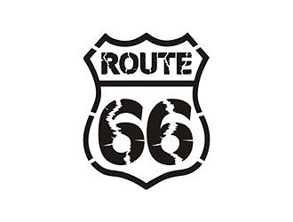 66 route商标设计
