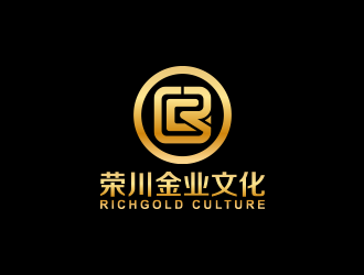 北京荣川金业文化(beijing richgold culture co.ltd)logo设计