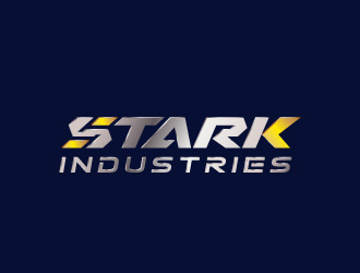 STARK INDUSTRIES英文Logo设计方案1