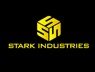 STARK INDUSTRIES英文Logo设计方案3