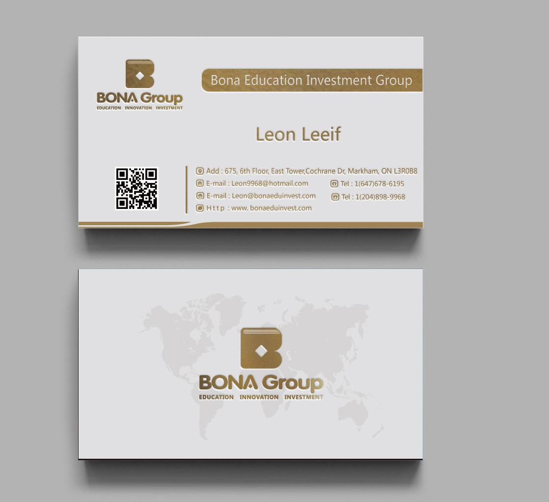 Bona Education Investment Group 配套vi设计商标设计方案2