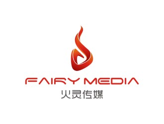 北京火灵传媒,Beijing Fairy Media Co., Ltdlogo设计