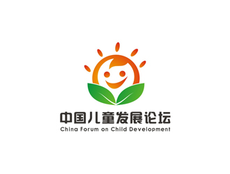 中国儿童发展论坛 China Forum on Child Developmentlogo设计