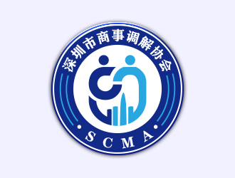 深圳市商事调解协会(Shenzhen Commerical Mediation Associatiologo设计